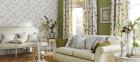 cushions, wallpaper, fabric